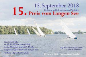 15. Preis vom Langen See @ Yachtclub Wendenschloß e.V. | Berlin | Berlin | Deutschland