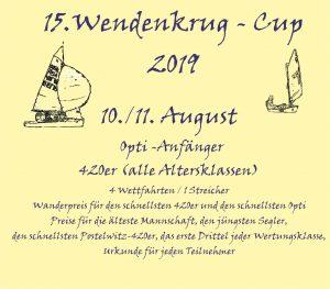 Wendenkrug-Cup 2019 @ Yachtclub Wendenschloß e.V. | Berlin | Berlin | Deutschland