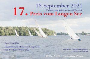 Preis vom Langen See @ Yachtclub Wendenschloß e.V. | Berlin | Berlin | Germany